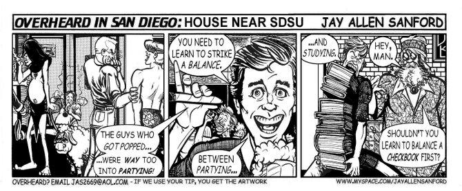House near SDSU
