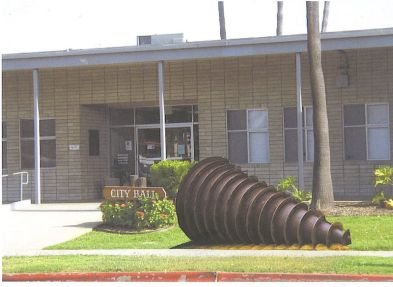 Public Art signifies what goes on at Imperial Beach City Hall!