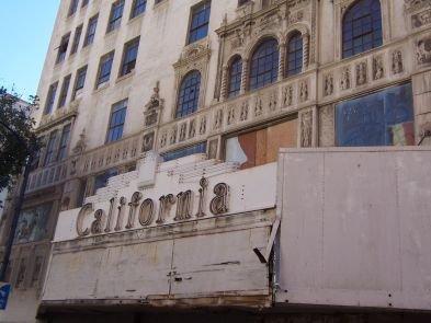 The California Theatre at 1122 Fourth Avenue.