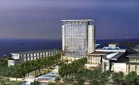 This is an artist's rendering of what the Gaylord hotel might look like.