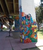 Chicano Park has the largest mural project in the city.