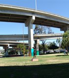 Chicano Park is a 7.9 acre park located beneath the San Diego-Coronado Bridge in Logan Heights or Barrio Logan, a predominantly Mexican American and Mexican ...