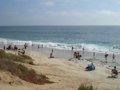 Looking for a good surf spot? Check out Windansea Beach in La Jolla.