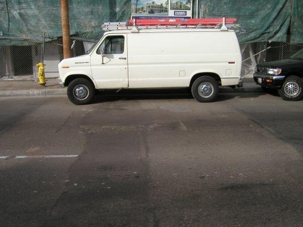 A typical street repair in Chula Vista.