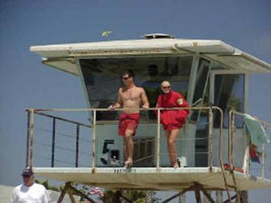 Imperial Beach lifeguards on patrol