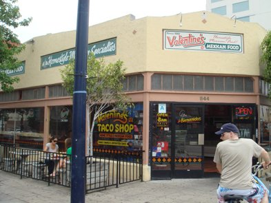 Downtown San Diego Valentines Is A Popular Fast Food Mexican