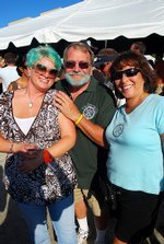 "Stone Brewery 12th Anniversary Beer Festival and ""Dye Hard"" Blue Hair Charity Fundraiser at Cal State San Marcos."
