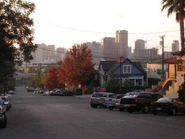 View of downtown from Golden Hill