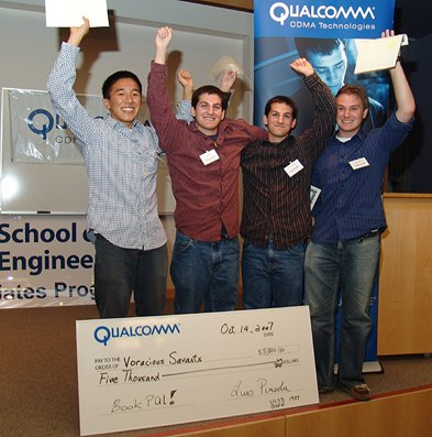 Qualcomm hosts a contest around their Snapdragon technology  at UCSD.