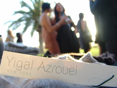 yigal azrouel fashion show to benefit the Burnham institute Scripps Ranch.