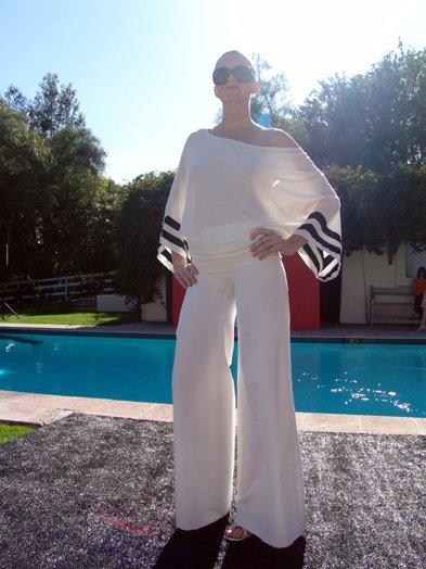 Bill Blass Fashion Show in Rancho Santa Fe.