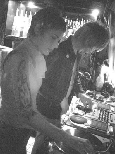 Resident DJs at the Zombie Lounge in Normal Heights.