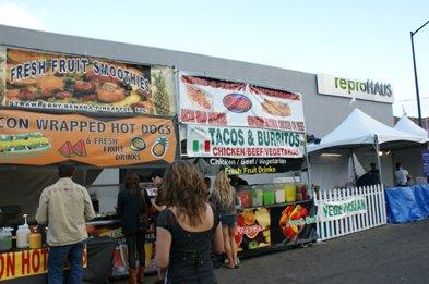 Fair food at Street Scene 2008.