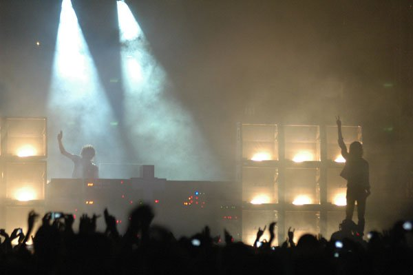 Justice on stage at Street Scene 2008