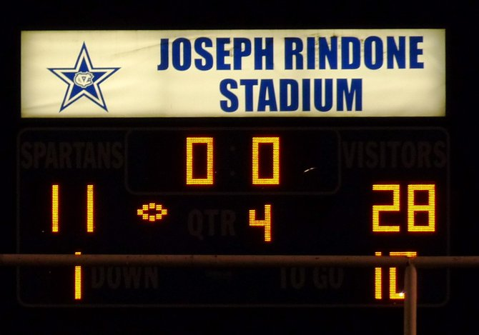 Final Score: Eastlake 28, Chula Vista 11