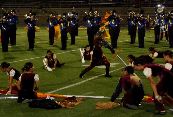 Mira Mesa's band performed their 2008 field show at halftime