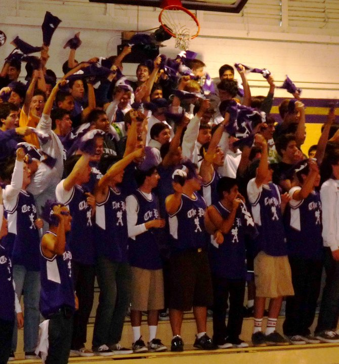 "St. Augustine's student section, named ""The Pit"""