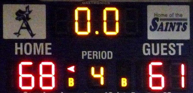 Final score: St. Augustine 68, University City 61