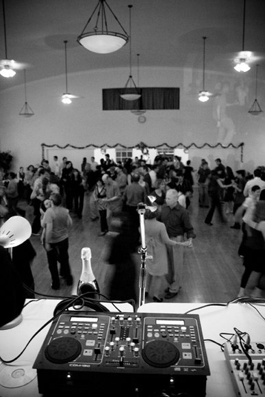 Firehouse Swing Dance, from the DJ's perspective
