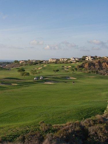 Encintas Ranch golf course holes 13 and 17.
