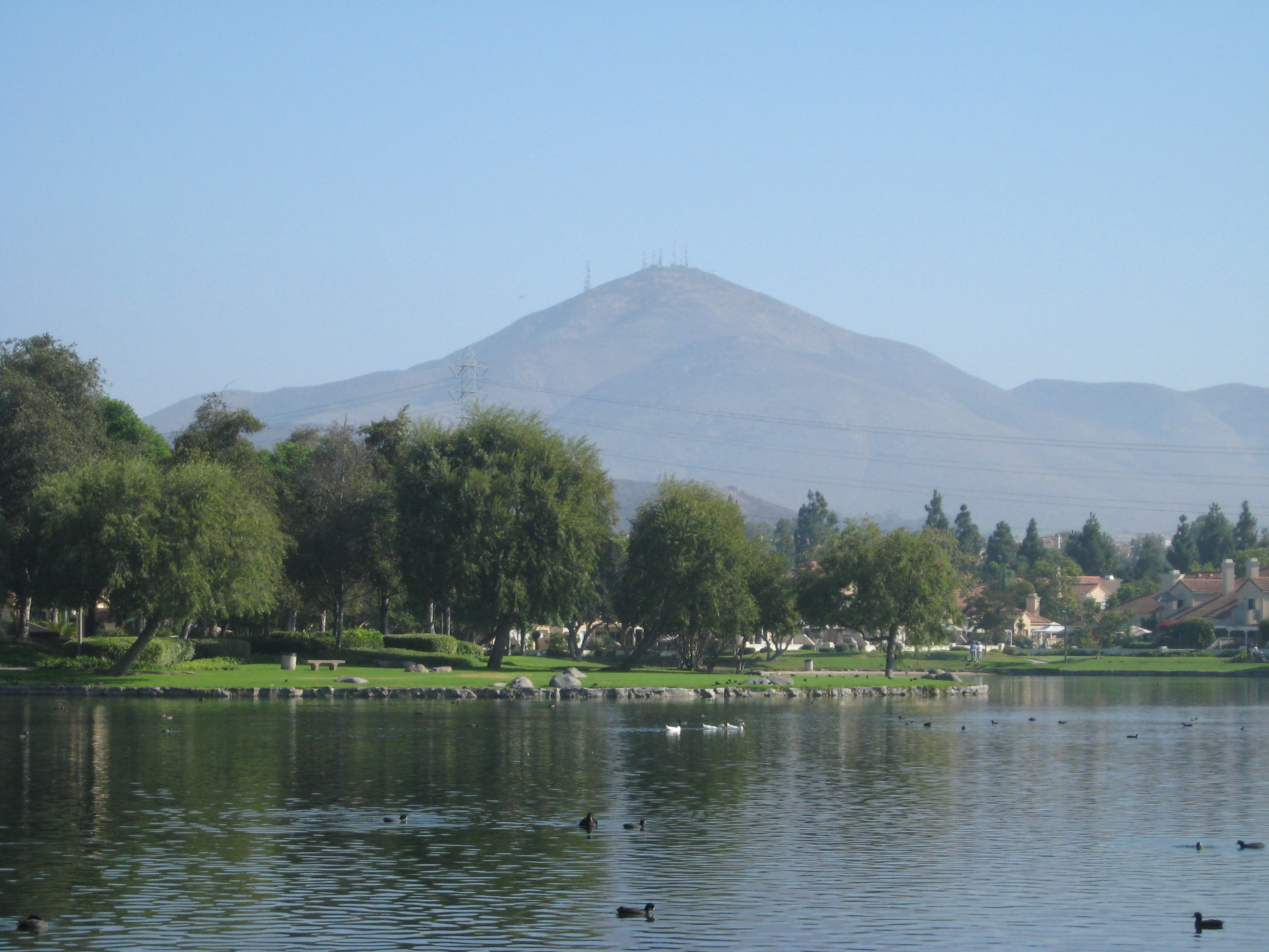 EastLake with Mt. San Miguel in background