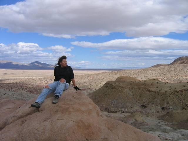 Reflections from the top of Anza-Borrego Desert. Taken by Joe Collins, Borrego Springs, California