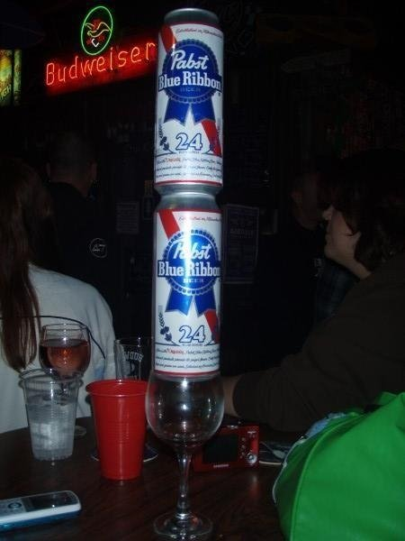 PBR Tall Cans, ONLY a Pier View Pub/Bubs Whiskey Dive in Oceanside