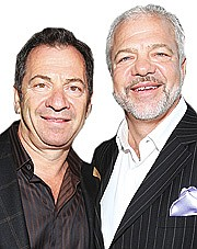 Alec and Sam Gores: Alec, on left, is a billionaire brother to Tom Gores. He divorced his wife Lisa after her 2000 affair with Tom. Sam, the third brother, is a renowned Hollywood agent, with an A-list of clients, including Andy Garcia and Aerosmith.