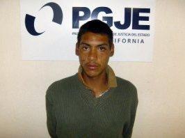 Alejandro Salas Díaz, allegedly killed man over 5 pesos.  Photo Credit: Baja California Attorney General's Office