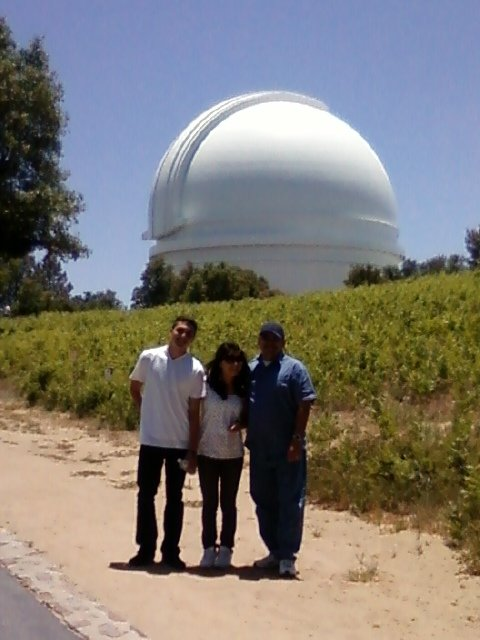 Palomar Observatory, beautiful day 5/31/09