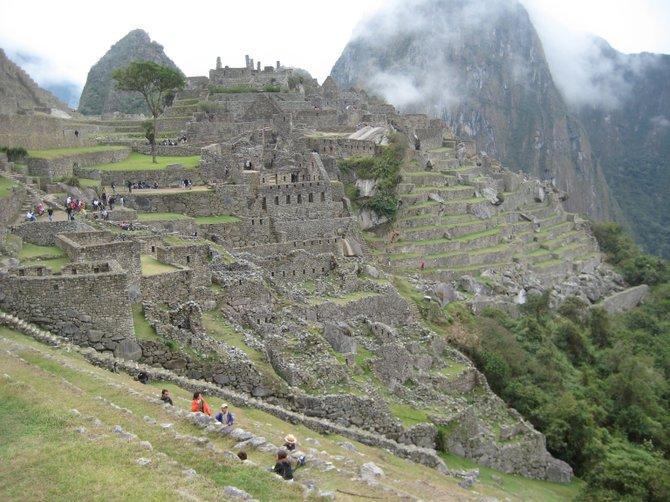 Machu Picchu, Peru: After a 4 day hike up the Inca path, we finally reached our destination.
