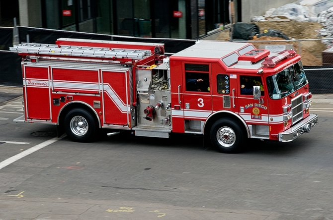 Engine Number 3 - Little Italy's Fire Truck