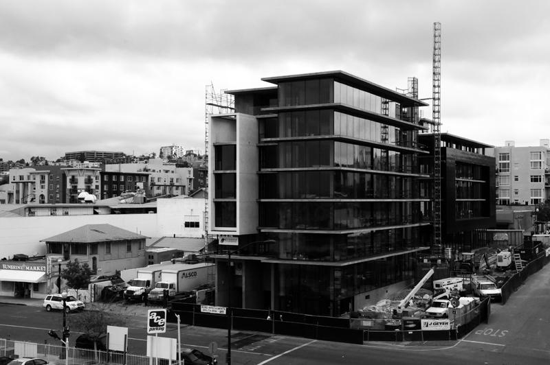 Jonathan Segal's Q Building under construction