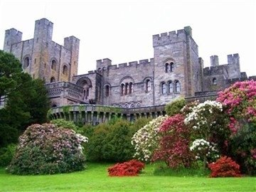 Penrhyn Castle is a country house in Llandegai, Bangor, Gwynedd, North Wales, in the form of a Norman castle. My son and I travelled there while staying with friends in Manchester England.