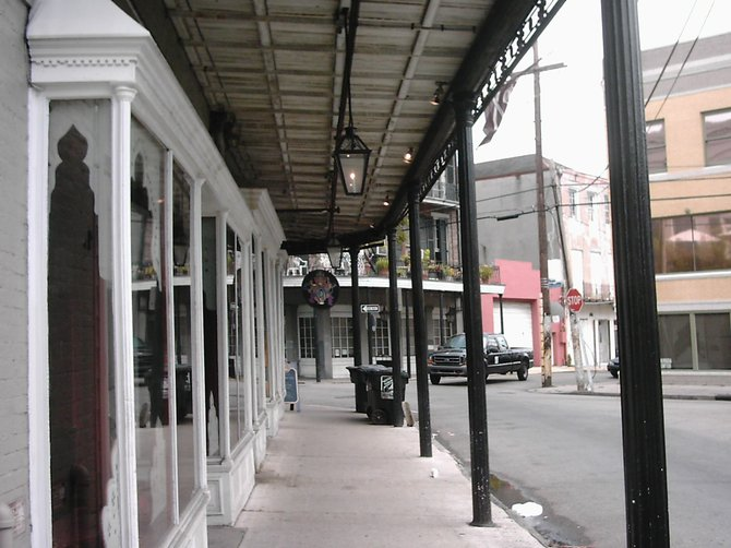 Open for business, the French Quarter, New Orleans