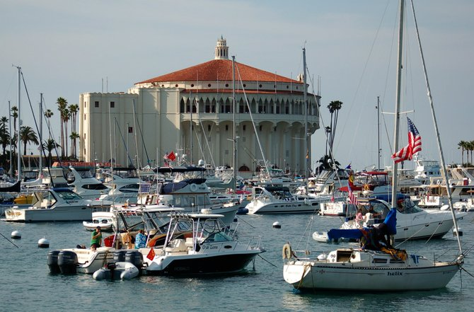 The Avalon Casino and harbor, Sat 13 Jun 09, Santa Catalina Island