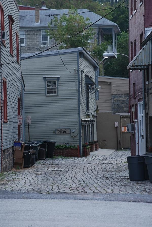 Alley in Ellicott City, Maryland