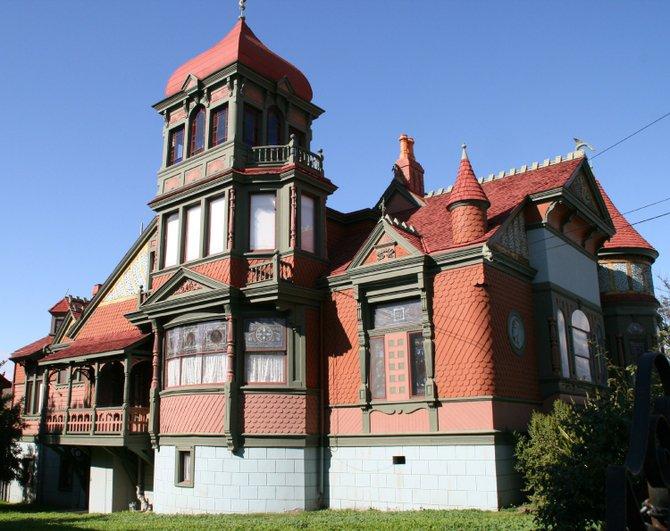 Villa Montezuma. Wish it was open.