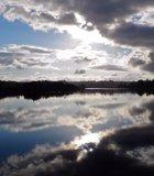 Sunrise at Lake Miramar