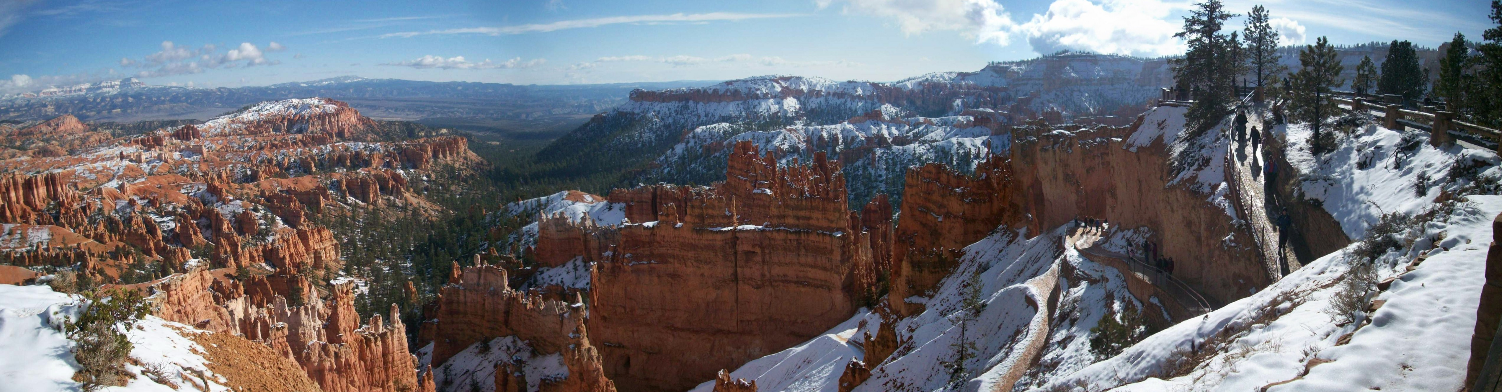 Day after thanksgiving 2008, Bryce Canyon, Utah