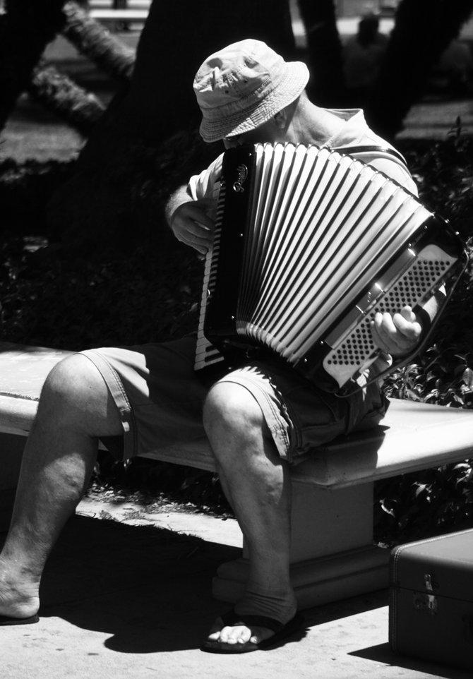 Performer at Balboa Park