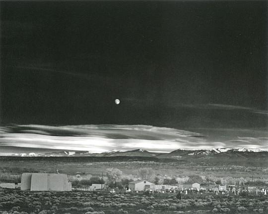 Moonrise, Hernandez, New Mexico, 1941