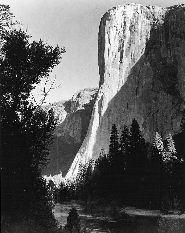 El Capitan, Sunrise, Winter, 1968