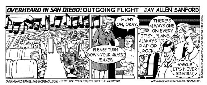 Outgoing flight