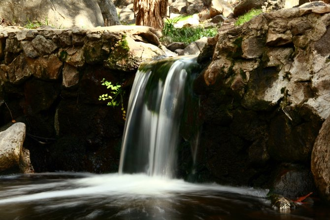 Waterfall at Felicita Park