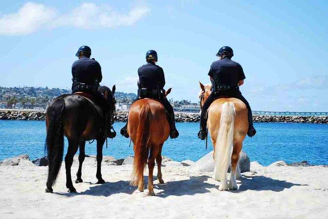 Beach Patrol San Diego style.