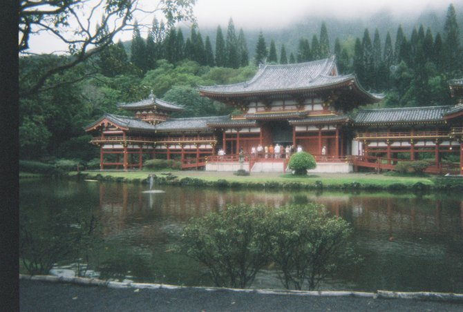Temple on Japanese Burial grounds in Oahu
