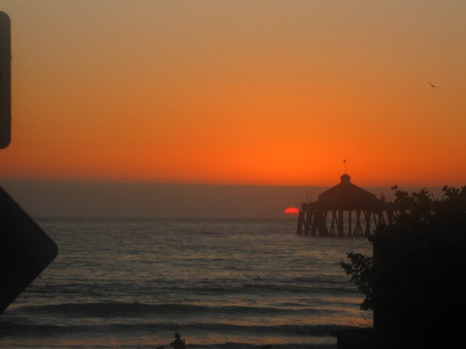Always a beautiful sunset in Imperial Beach