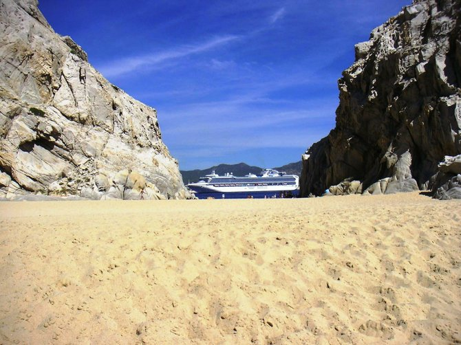 Mountain With A View -- View from Lover's Beach at Land's End - Cabo San Lucas