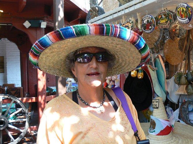 Mexican Sombrero, Olvera Street, Los Angeles, CA